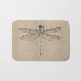 Dragonfly Fossil Dos Bath Mat