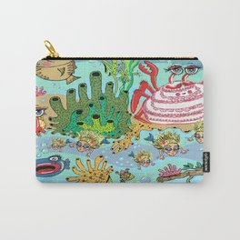 Mini Mermaids and Friends Carry-All Pouch