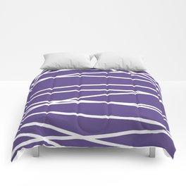 Violet Elegance Comforters