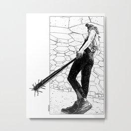 asc 342 - La fleur sauvage (Do you feel the beat now ?) Metal Print