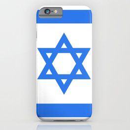 Israel Flag iPhone Case