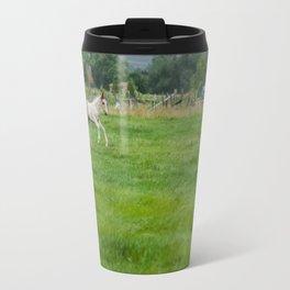 Playful colt Travel Mug