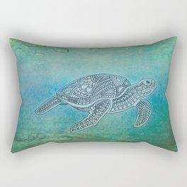 Turtle II Rectangular Pillow