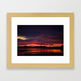 Abel Tasman Sunrise - New Zealand Framed Art Print