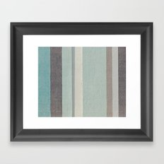 Right To the Wall Framed Art Print