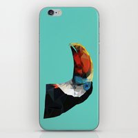 toucan iPhone & iPod Skins featuring Toucan by Sally Taylor