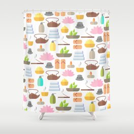 Yoga / Spa / Relax Shower Curtain