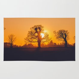 Yellow Sunset Rug