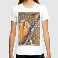 winchester T-shirts featuring Winchester Rifle by Captive Images Photography