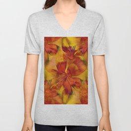 Blanket Of Crocuses Unisex V-Neck