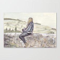 Unknown Figure 02 Canvas Print