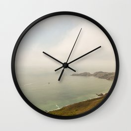 Coastal Drive Wall Clock
