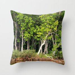 Enchanted Celtic Forest Throw Pillow