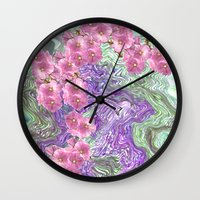 romantic Wall Clocks featuring Romantic by Vargamari