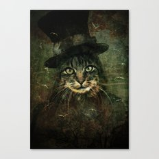 The other cat in the hat Canvas Print