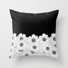 Daisy Boarder Throw Pillow