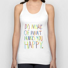 Positive Quote Unisex Tank Top