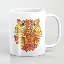 Cactus Tiger Head Coffee Mug