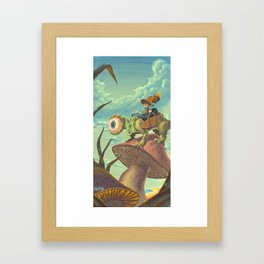 "The Search, 13""x24"" Framed Art Print"