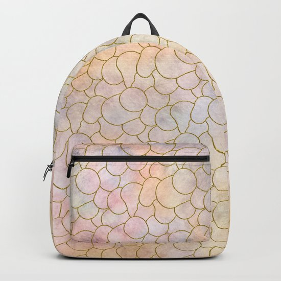 SOFT PASTELS PATTERN (abstract) Backpack