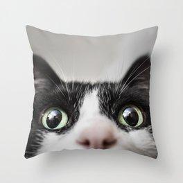 Funny Cat Throw Pillow