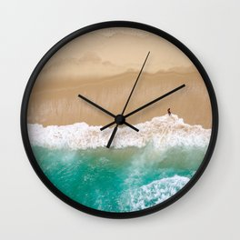 Peace to the Sea Wall Clock