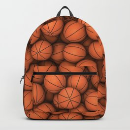 Basketballs Backpack