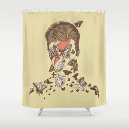 FACES OF GLAM ROCK Shower Curtain
