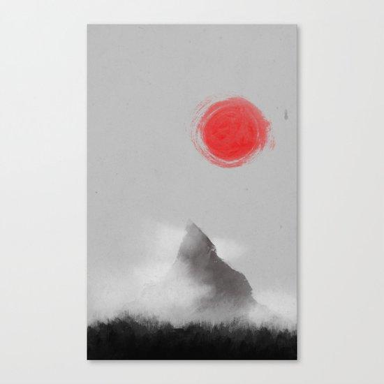 山- Mountain Canvas Print