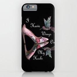 Wings On My Heels iPhone Case