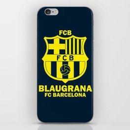 Slogan Barcelona iPhone Skin
