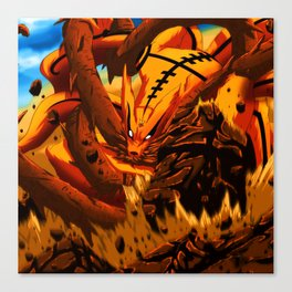 kyuubi angry Canvas Print