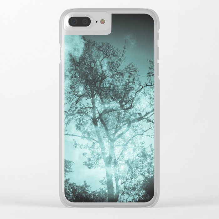 Secret life of tree Clear iPhone Case
