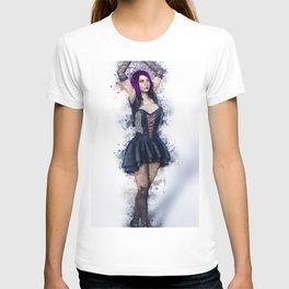 Gothic Steampunk Woman T-shirt