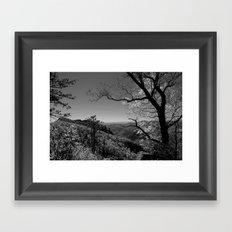 Linville Gorge Framed Art Print