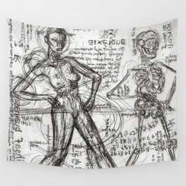Clone Death - Intaglio / Printmaking Wall Tapestry