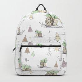 Christmas Snail  Backpack