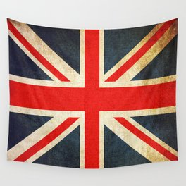 Vintage Union Jack British Flag Wall Tapestry