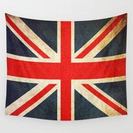 Vintage Union Jack British Flag Wall Tapestry