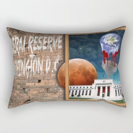 Federal Reserve Bank DC Rectangular Pillow