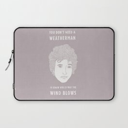 Bob Dylan - You don't need a weather man Laptop Sleeve
