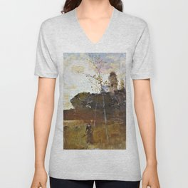 The path from the woods - Digital Remastered Edition Unisex V-Neck