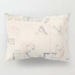 the writing on the wall ... Pillow Sham
