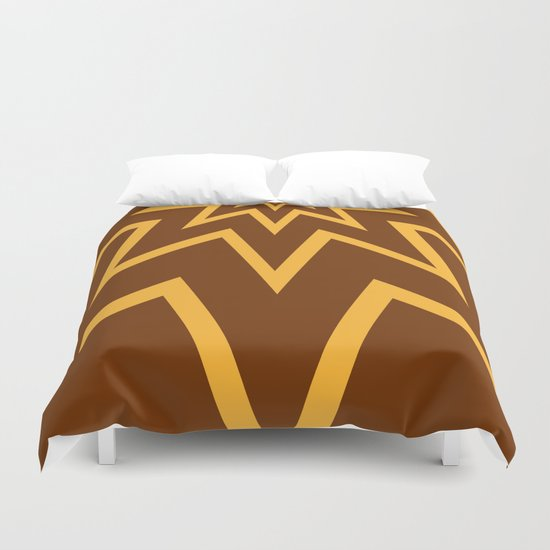 Super Peanut Butter Chocolate Fantastic! Duvet Cover