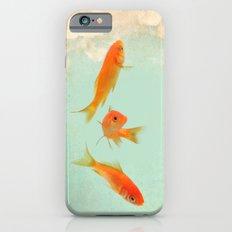 Goldfish in the sky iPhone 6s Slim Case