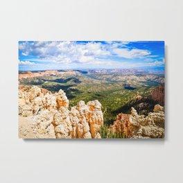 Utah - Red Spire Vista Metal Print