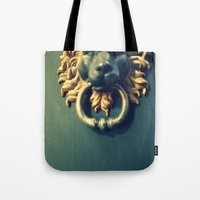 narnia Tote Bags featuring Even if there isn't any Narnia. by Nicole Nutter