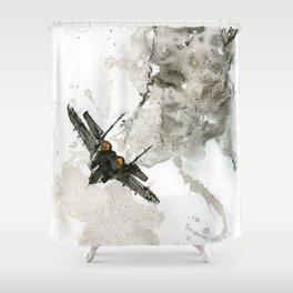 Mig 29 Shower Curtain