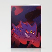 gengar Stationery Cards featuring Mega Gengar by Vaahlkult