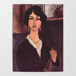 "Amedeo Modigliani ""Almaiisa Seated"" Poster"